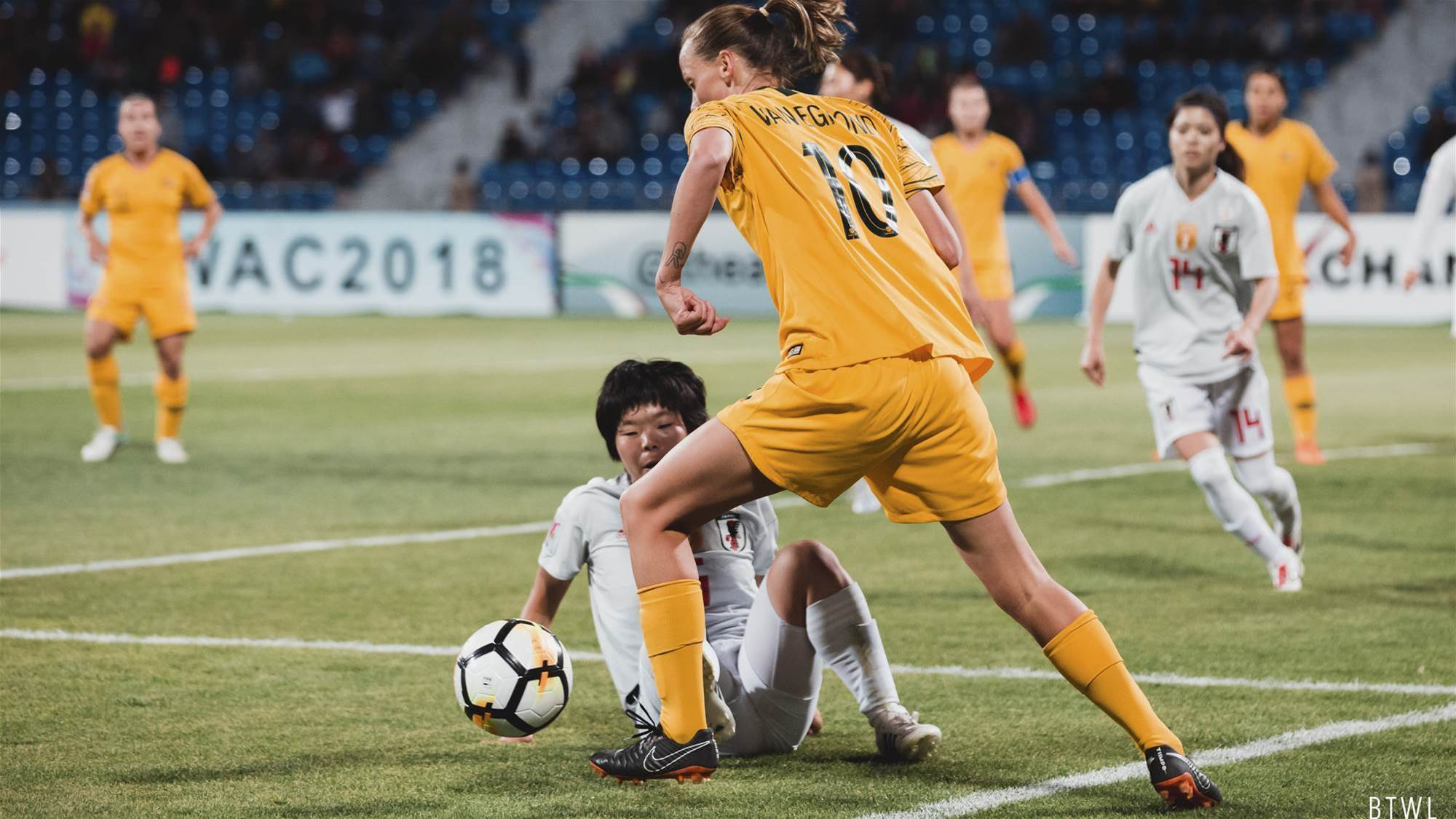 Catley: It's the story of our tournament