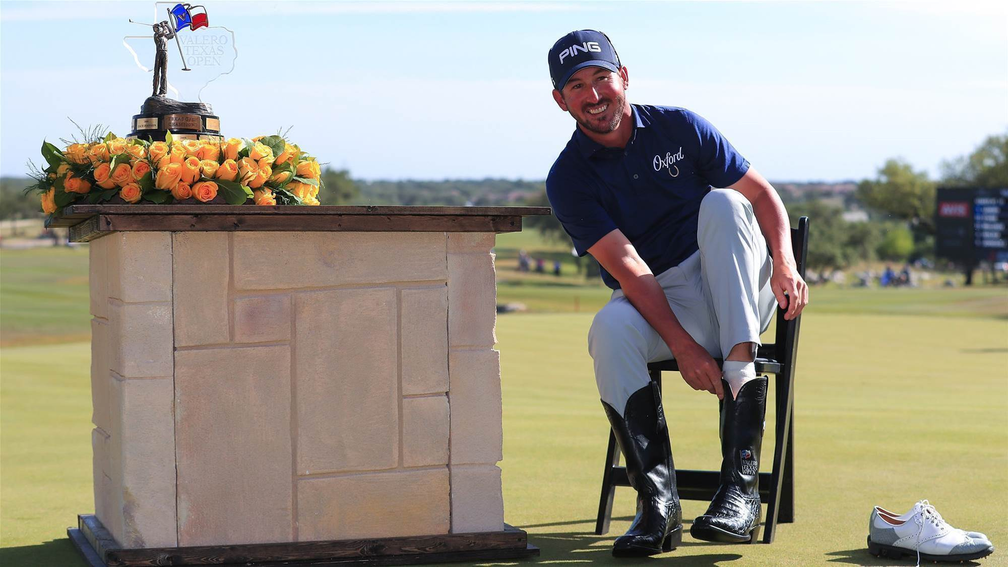 Landry wins Texas Open for first PGA title