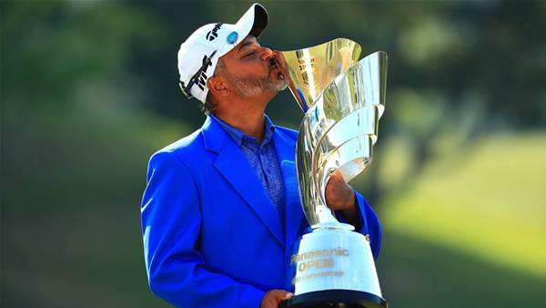 Gangjee ends 14-year title wait at Panasonic Open