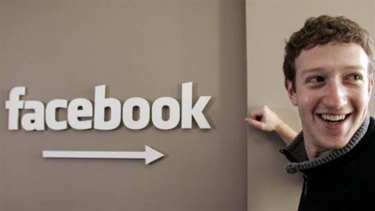 Facebook posts record revenues for first quarter