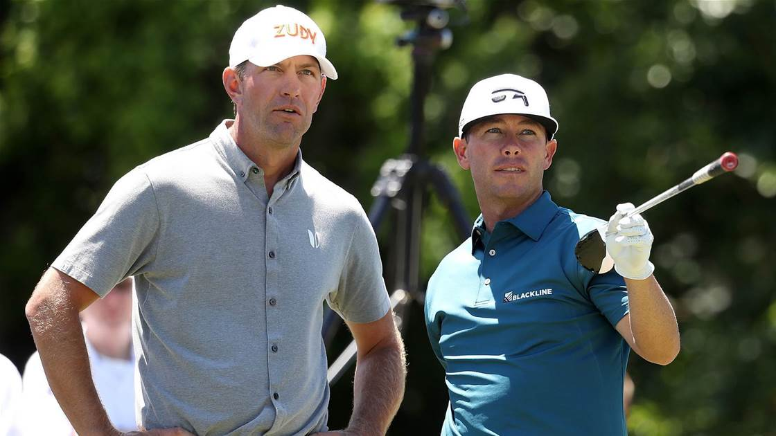 Reavie-Glover & Zhang-Dou share Zurich Classic lead