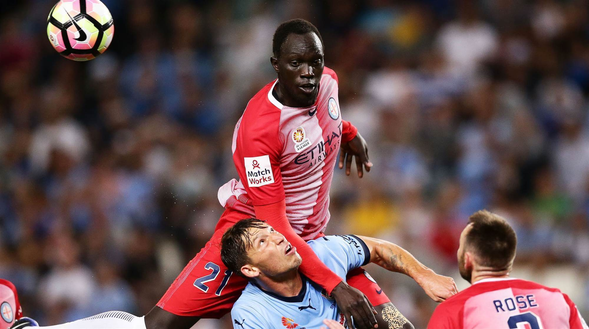 Wanderers swoop for City trio