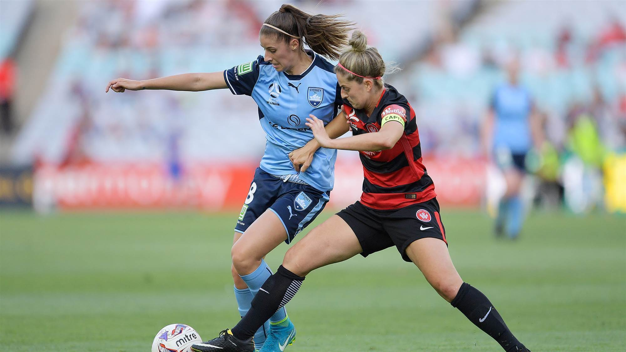Telstra streaming 'select' women's football matches