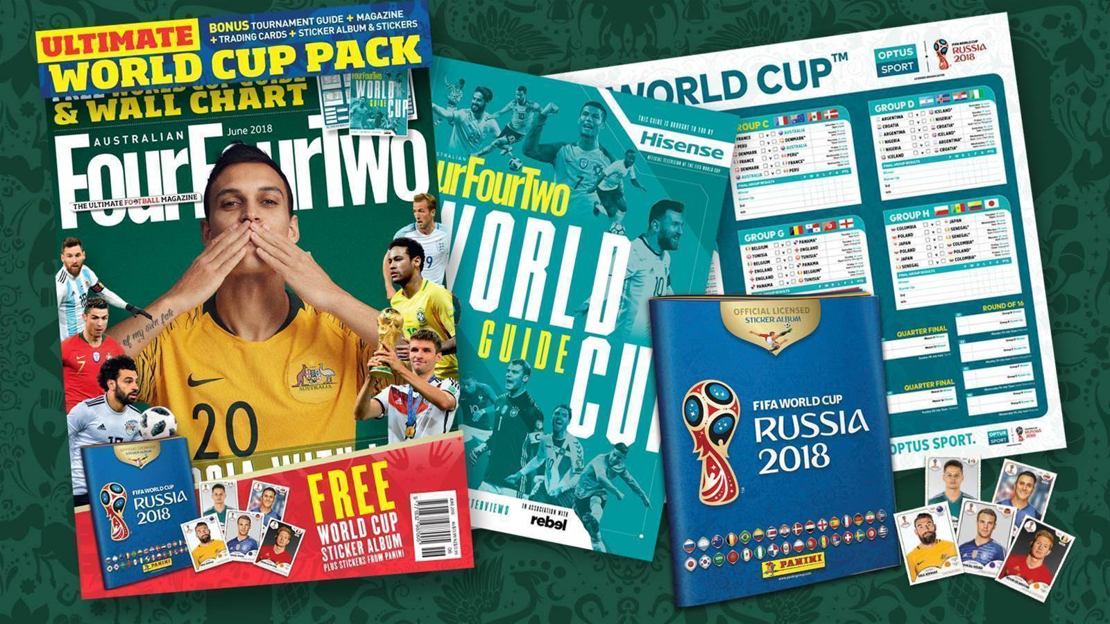 All you need for the World Cup...