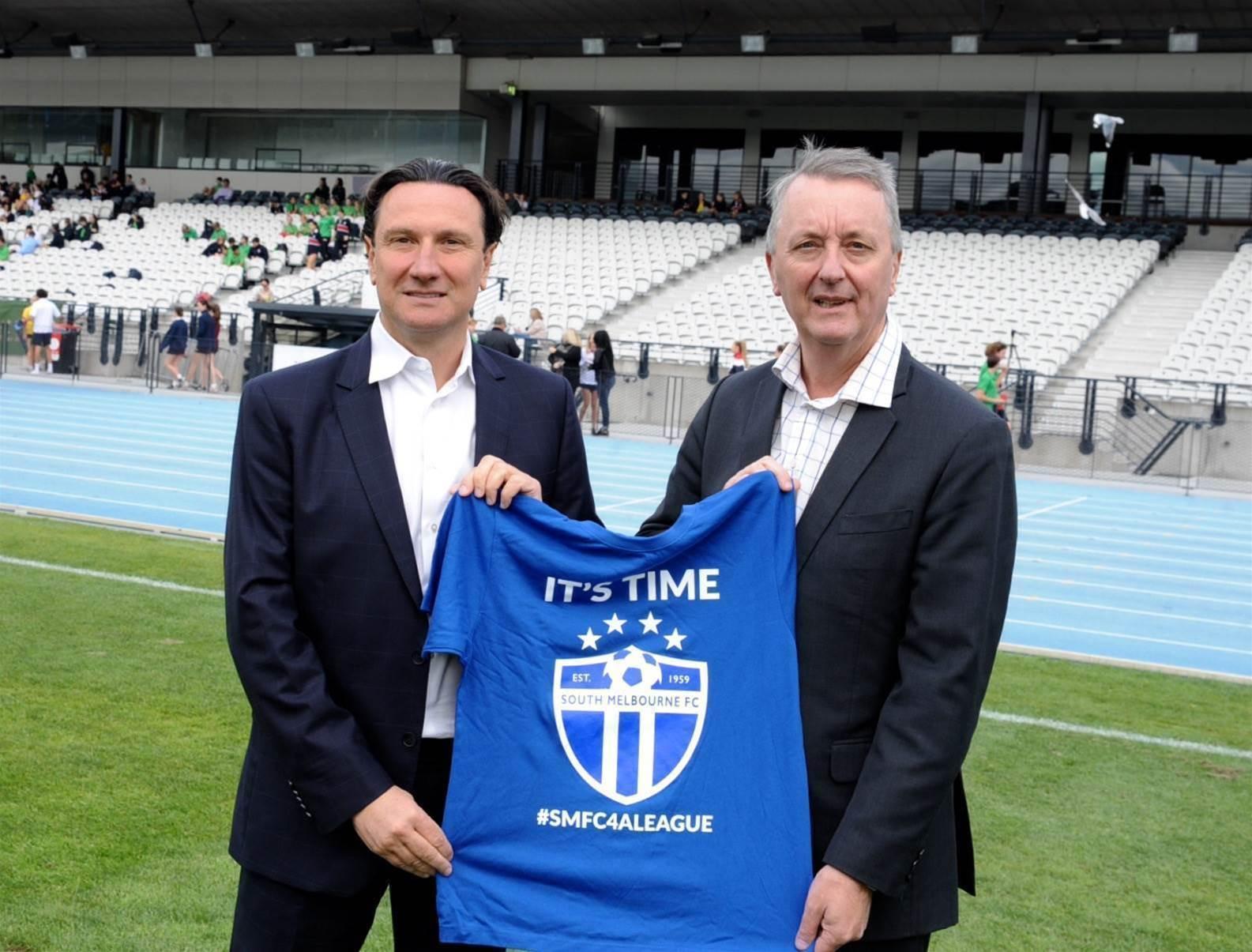 South Melbourne bid gets political