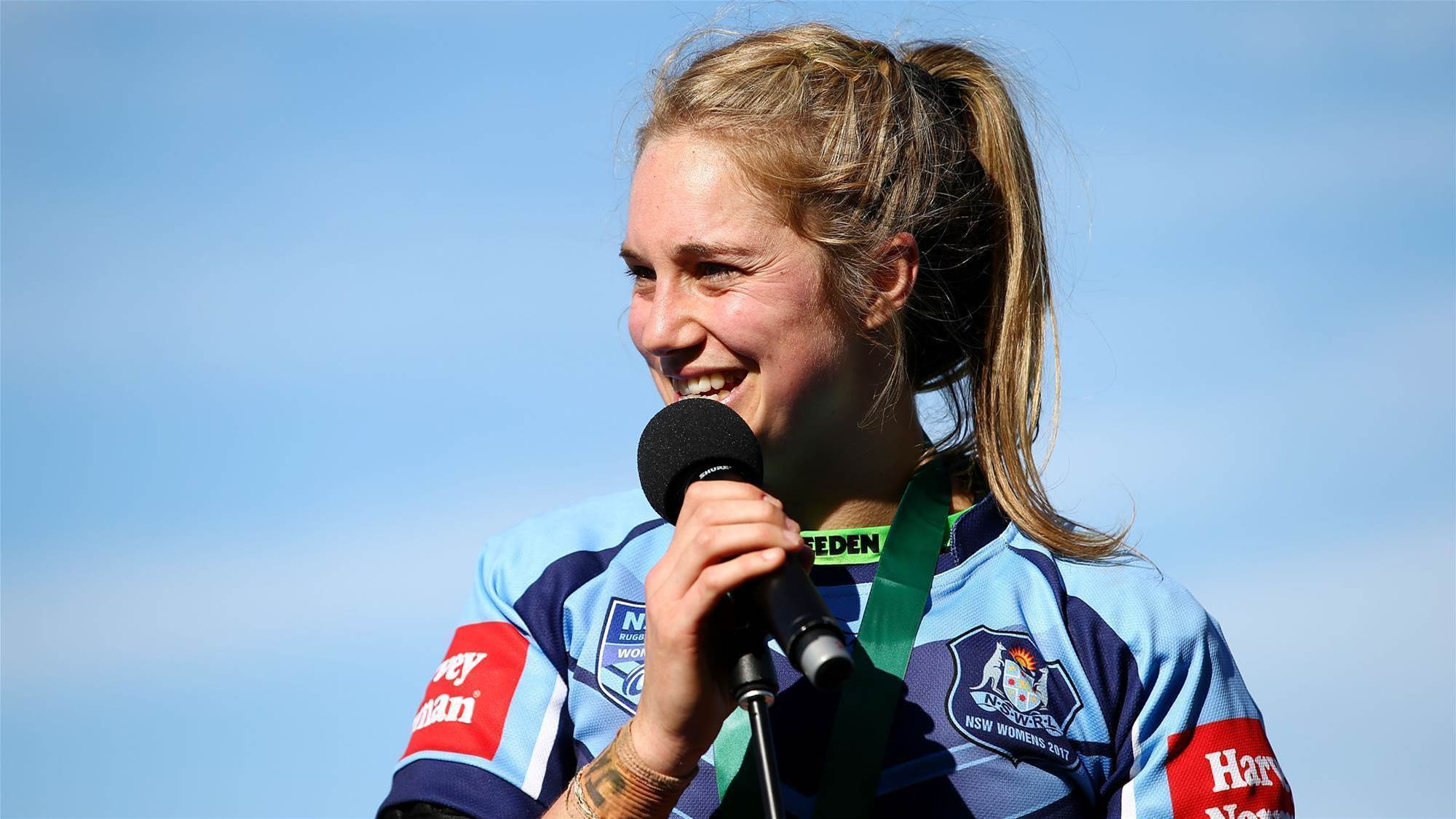 NRL Women's contracts being ironed out