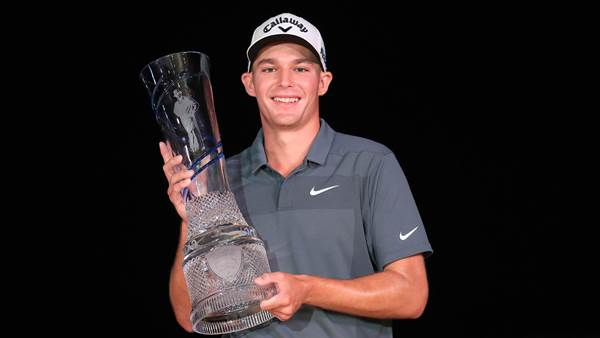 Wise beats Leishman for Byron Nelson title