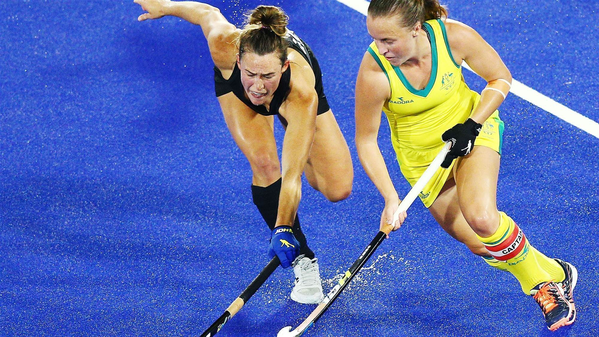 Hockeyroos on top for Tri Nations