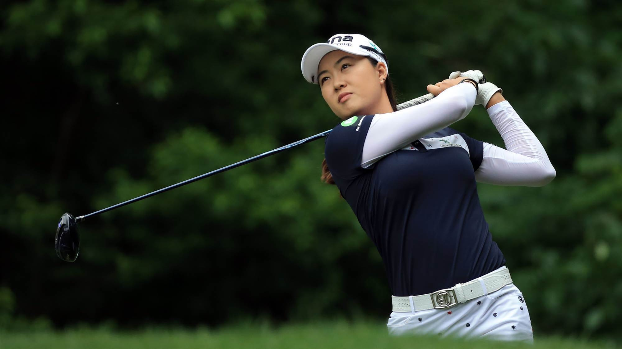 Minjee Lee one off the pace in Michigan