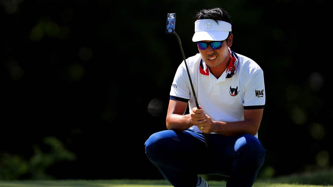 Kevin Na leads in Fort Worth