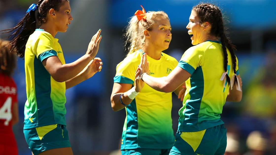 Aussie 7s team announced for Paris leg