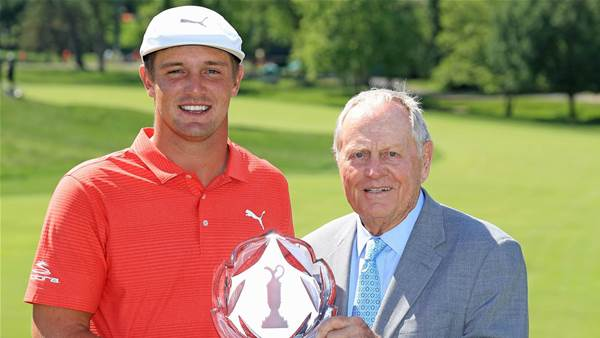DeChambeau wins the Memorial in playoff