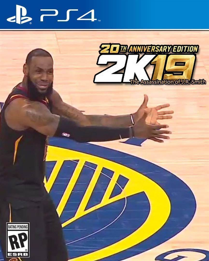LeBron James confirmed as cover athlete for NBA2K19