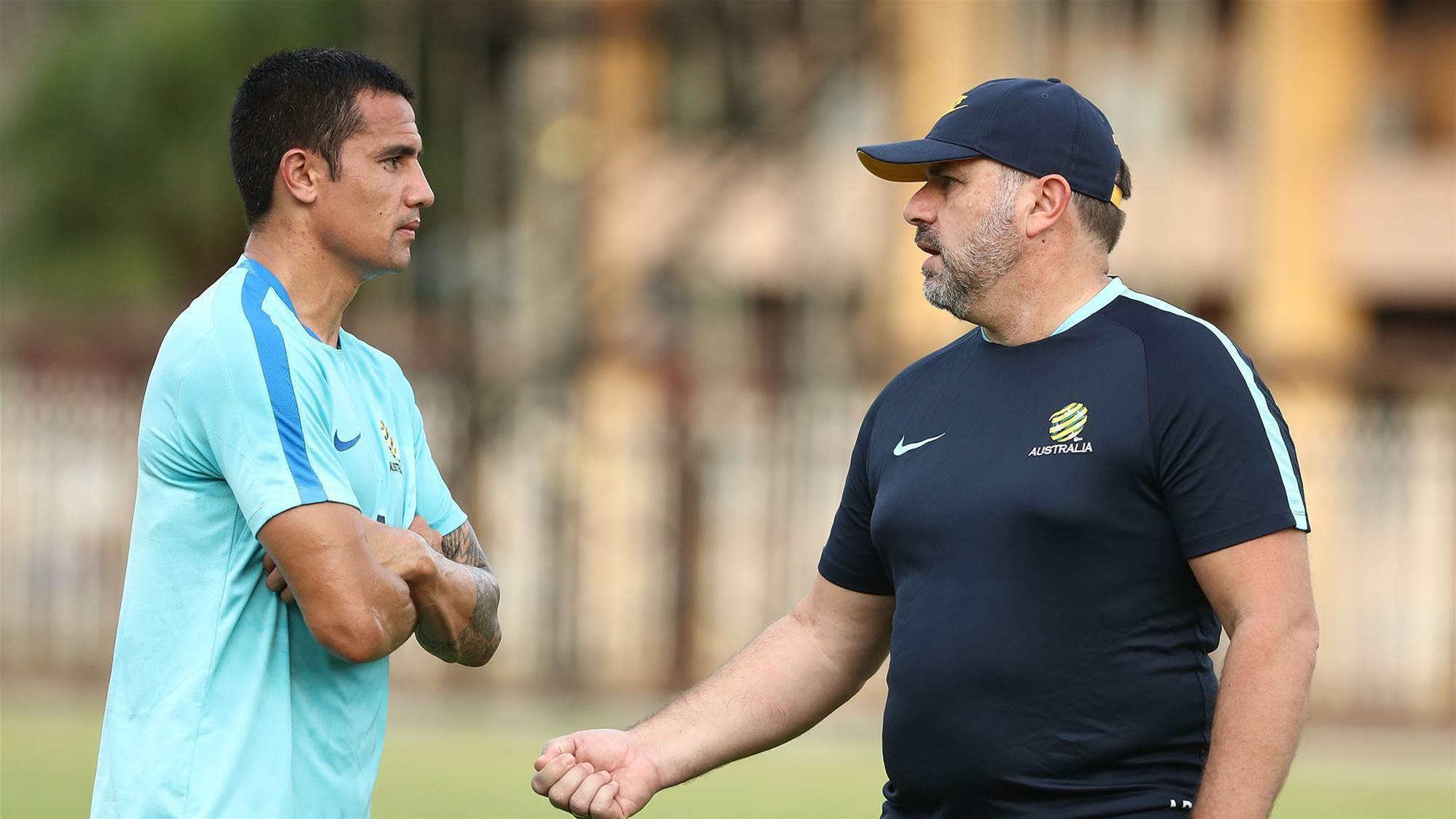 Cahill: Ange has been in touch