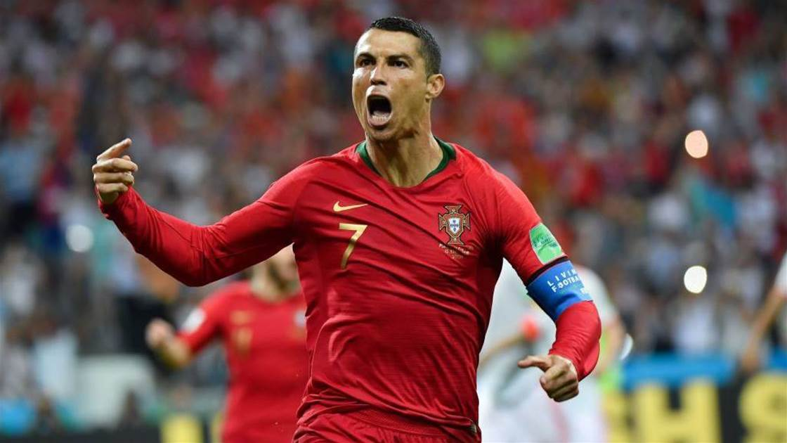 Ronaldo's hat-trick earns Portugal 3-3 draw with spain