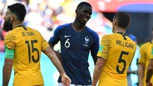 Pogba: Australia knew their stuff