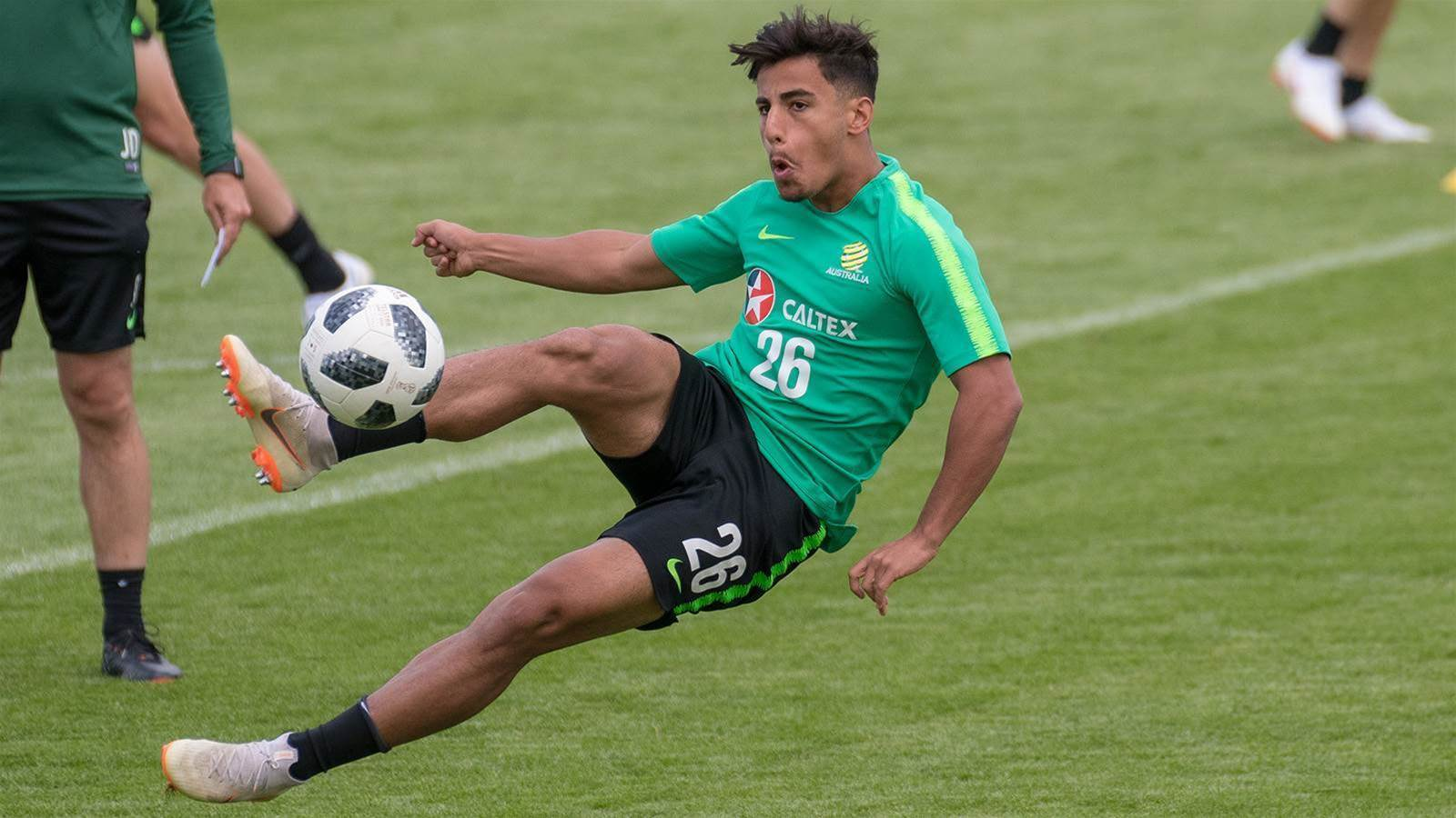 """Arzani on playing in the World Cup: """"Jesus Christ, this is pretty cool...'"""