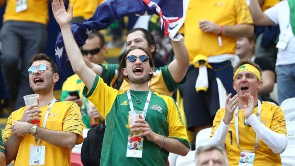 Australian fans have run beer taps dry in Kazan