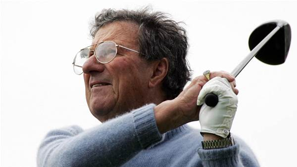 Peter Thomson remembered as golfing great