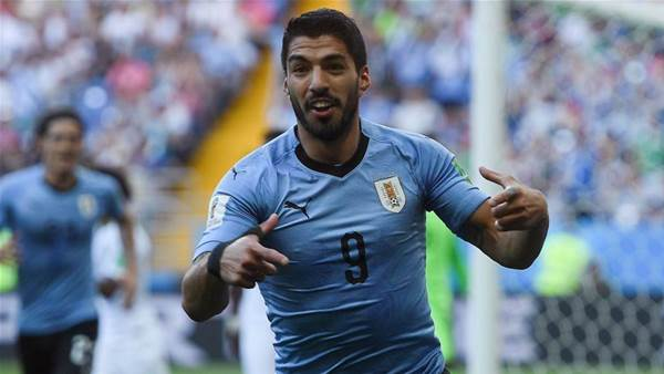 Uruguay beat Saudi Arabia 1-0 to reach knockout stages