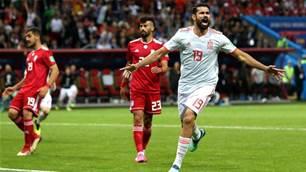 Costa's goal earns Spain 1-0 win against Iran