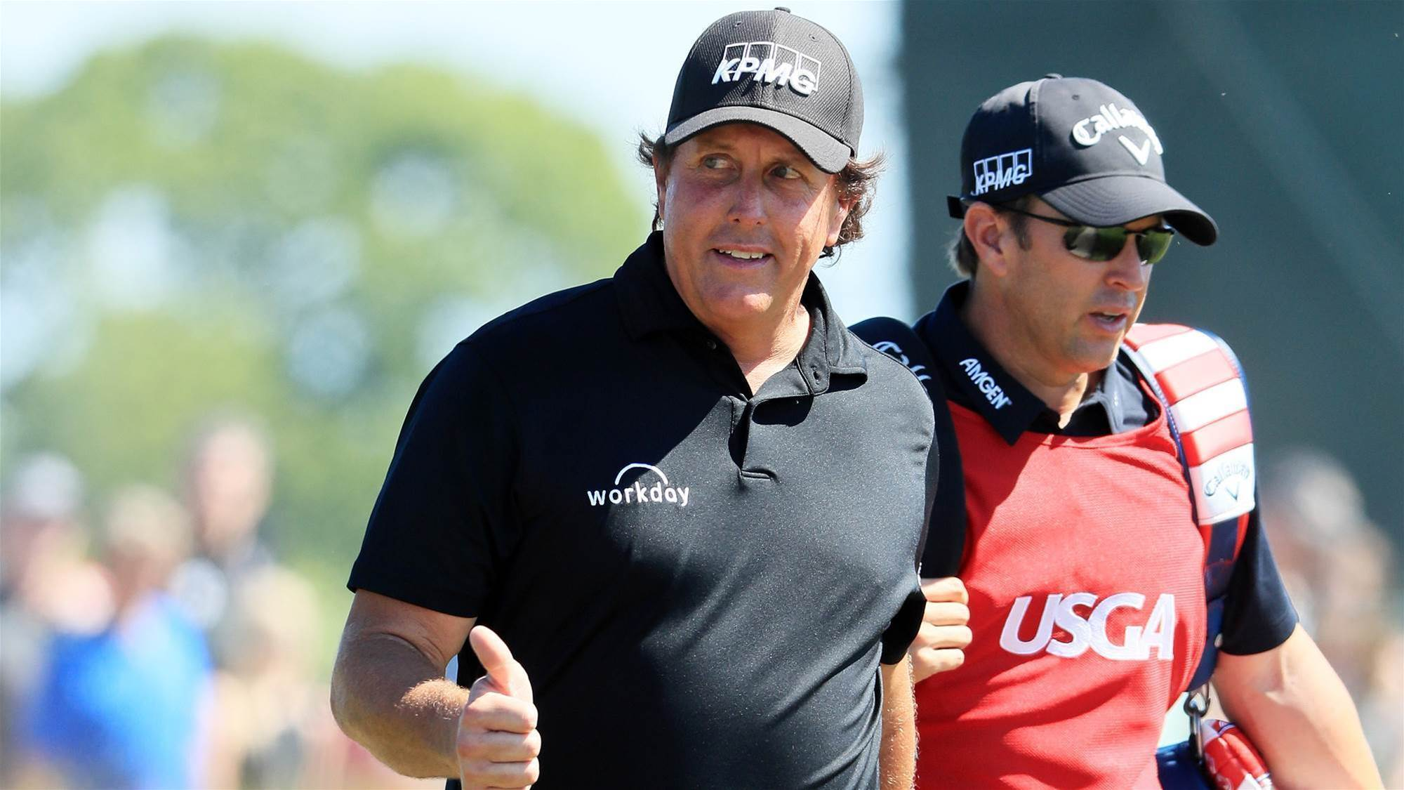 Mickelson sorry for Open moment of madness
