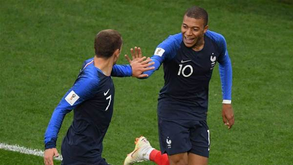 Mbappe on target as France beat Peru 1-0 to reach round of 16