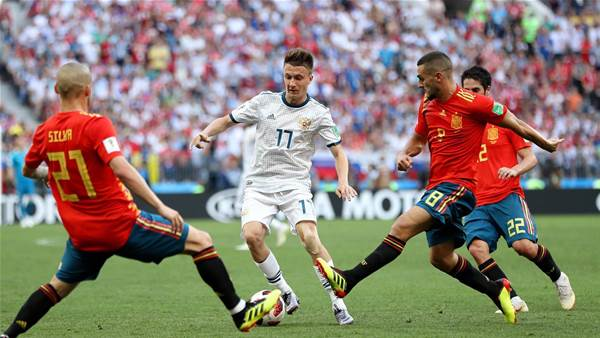 Spain v Russia - player ratings