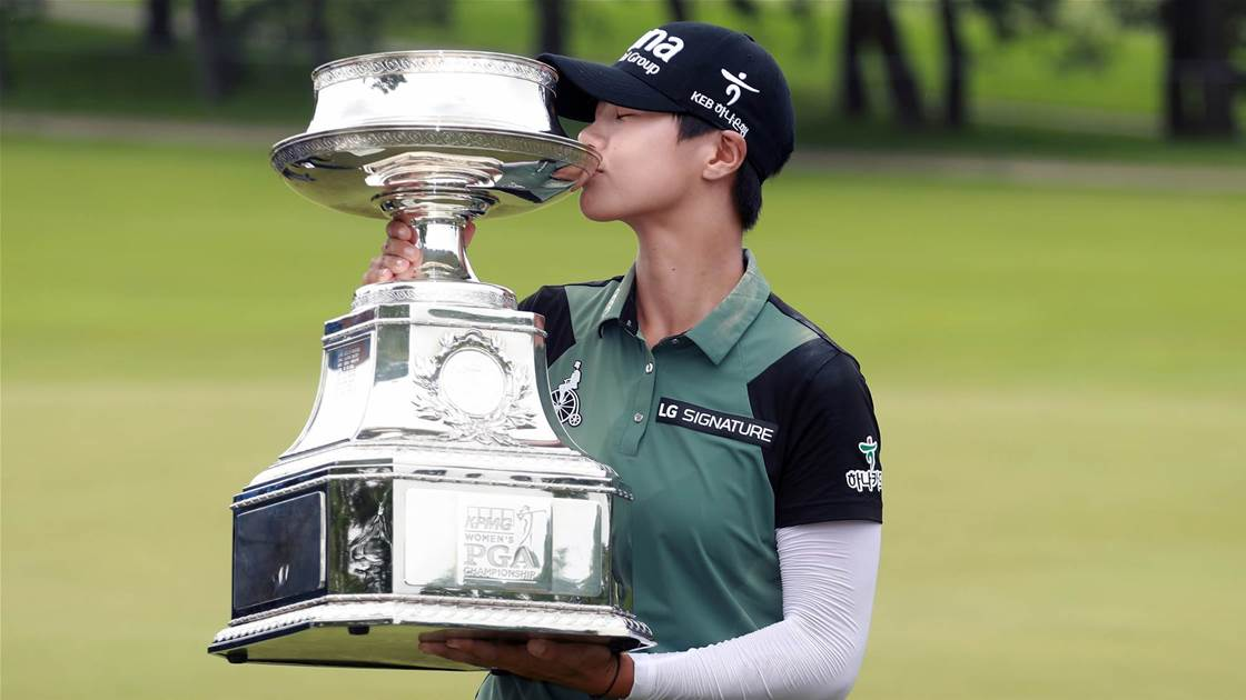 Park wins Women's PGA Championship