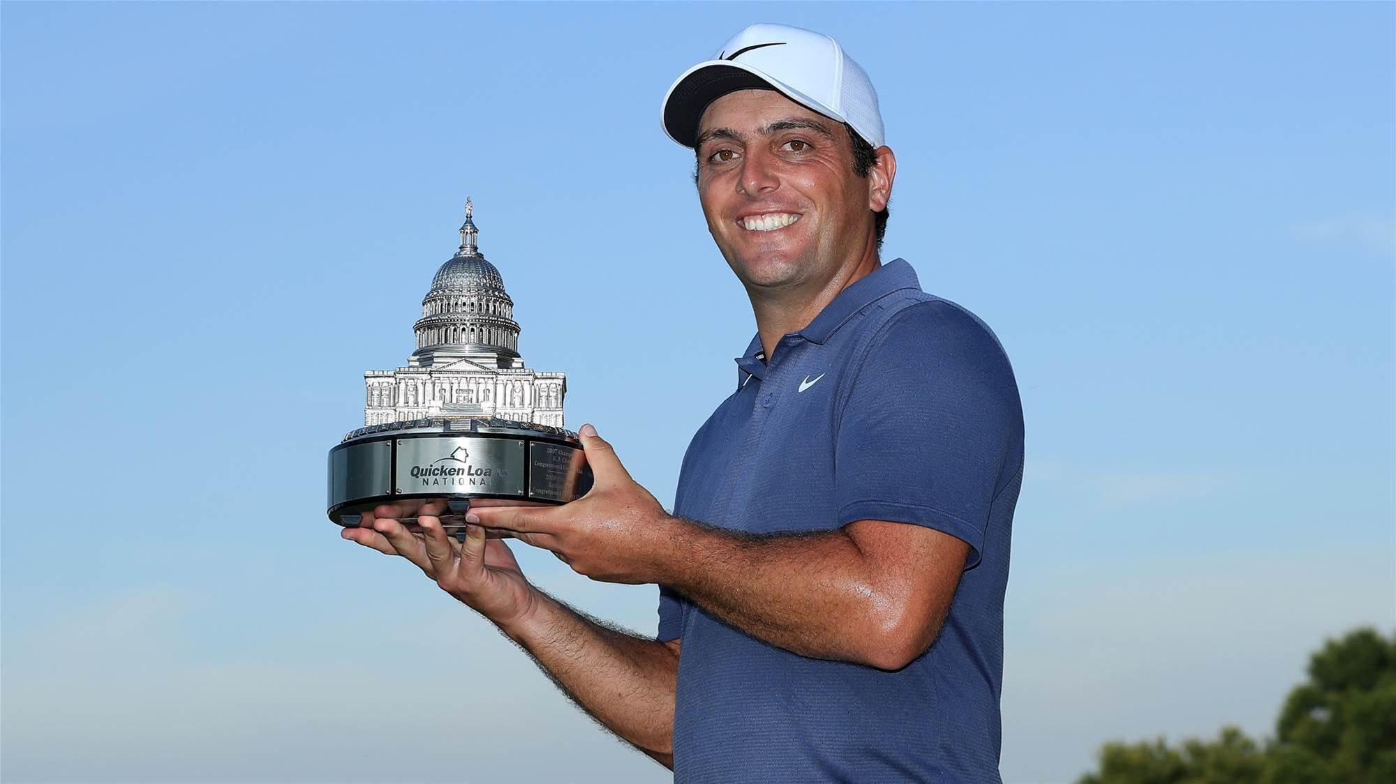 Molinari storms to maiden PGA Tour victory