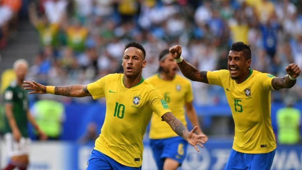 Neymar on target as Brazil reach World Cup quarter-finals