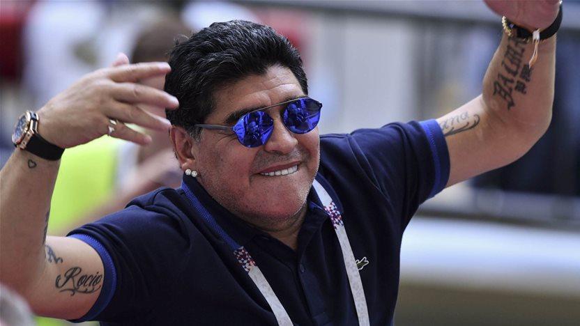 FIFA condemn Maradona for slamming American ref