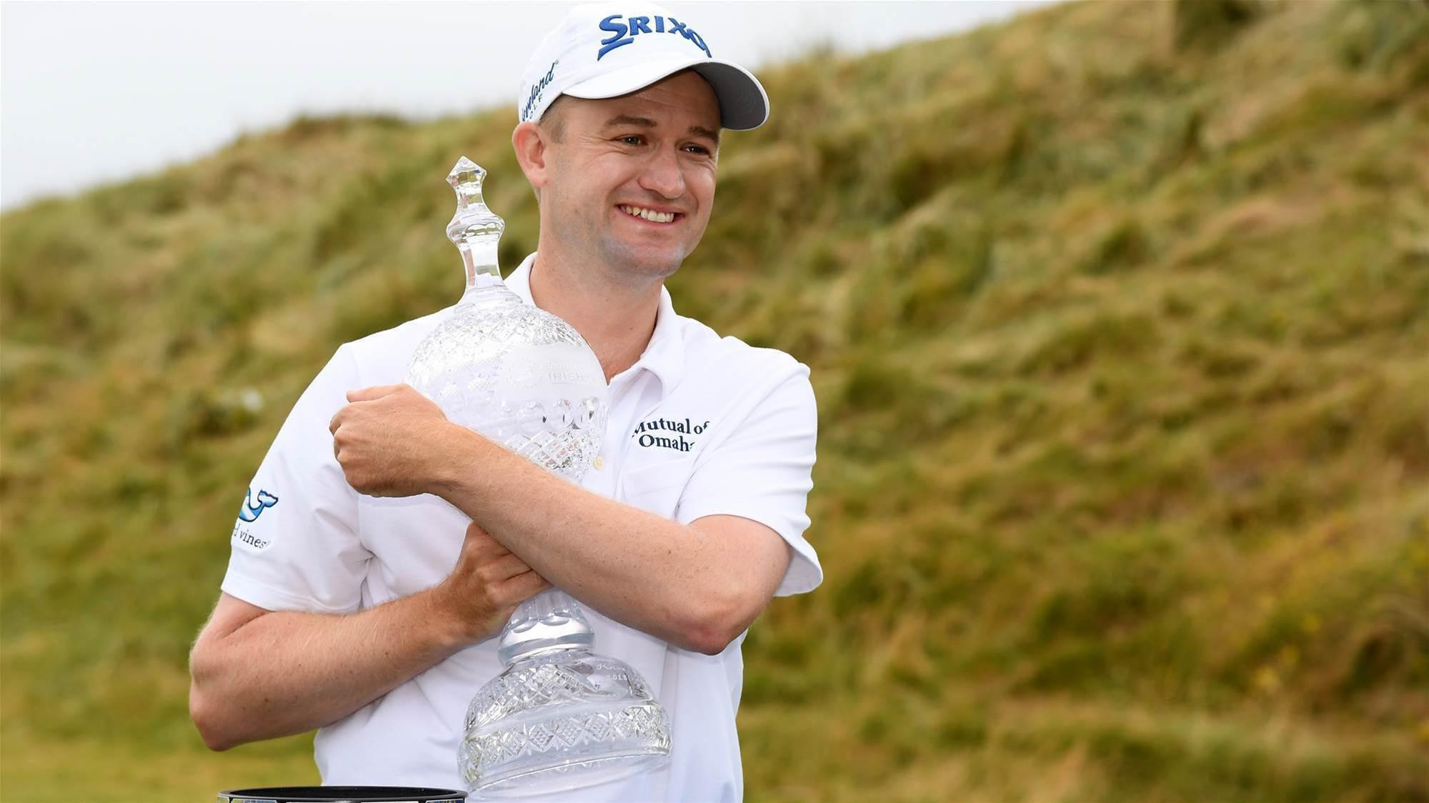 Knox narrowly beats Fox in Irish Open
