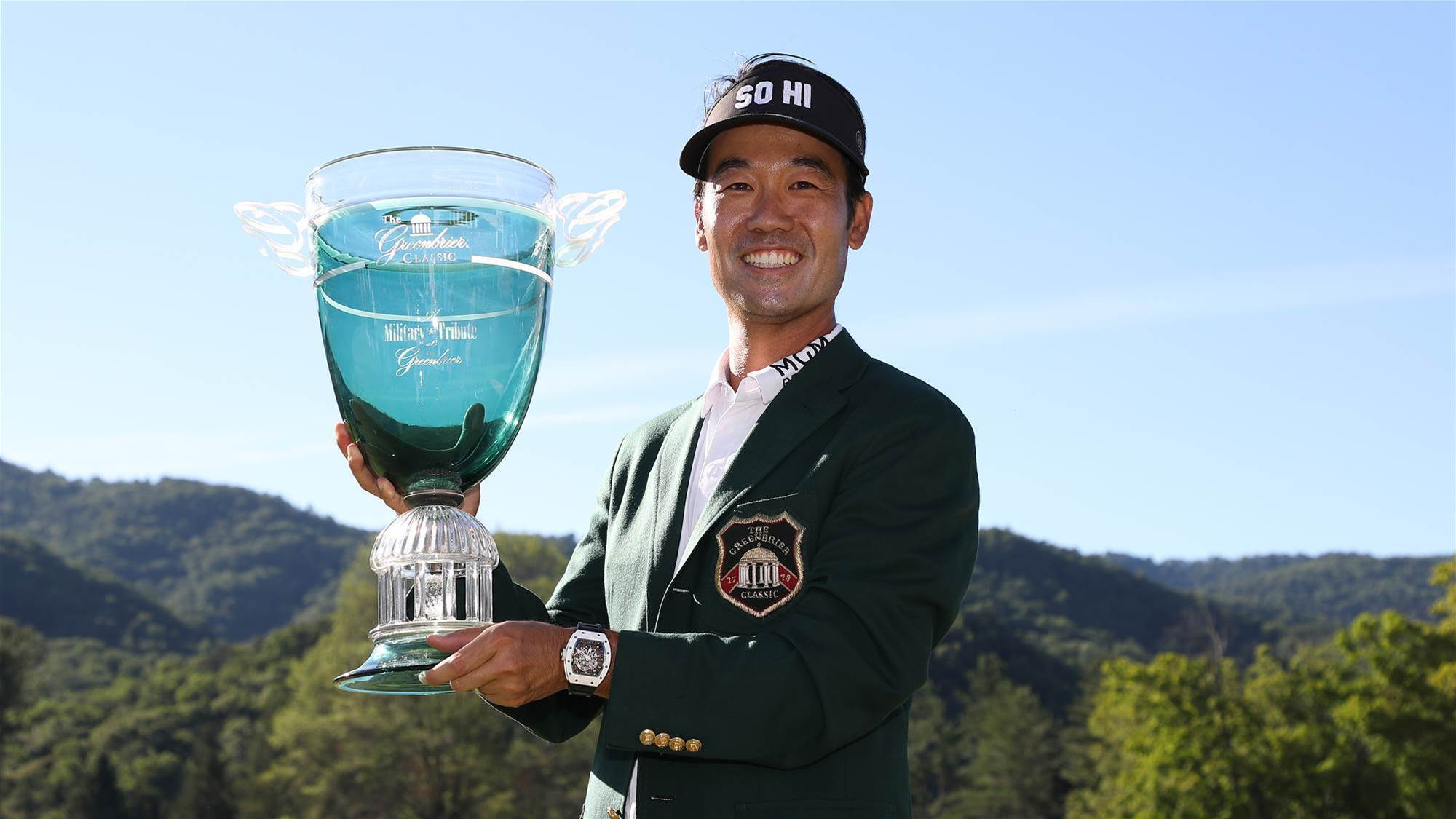 Na eases to five-shot victory at The Greenbrier