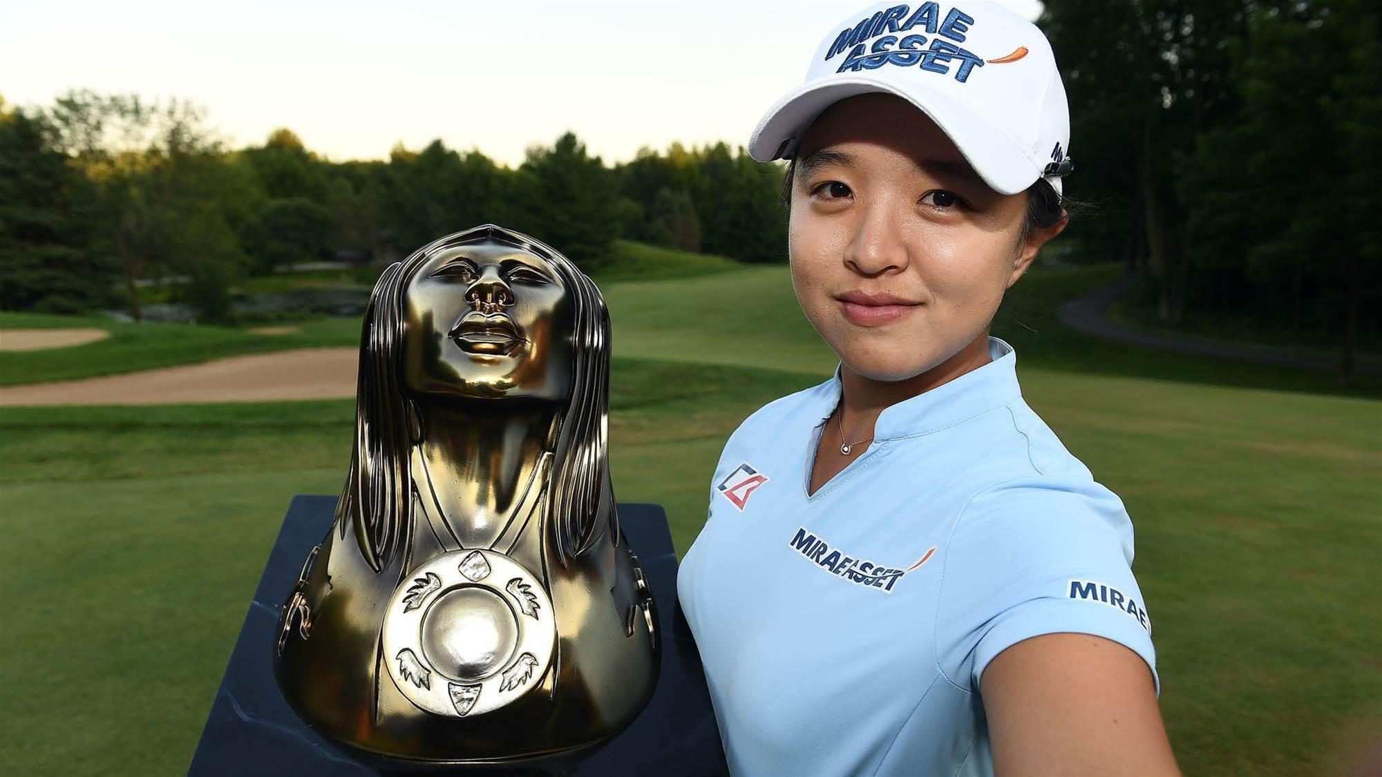 Young Kim shatters LPGA scoring records