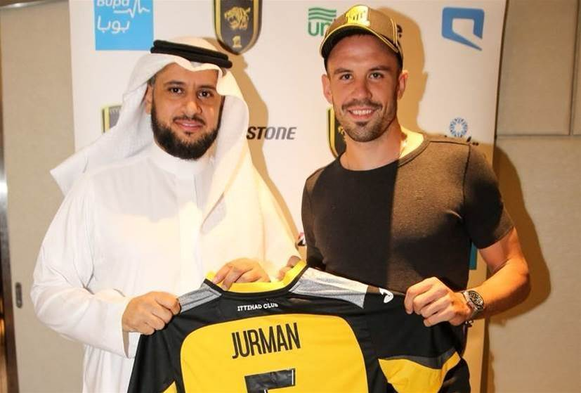Jurman's Saudi move confirmed