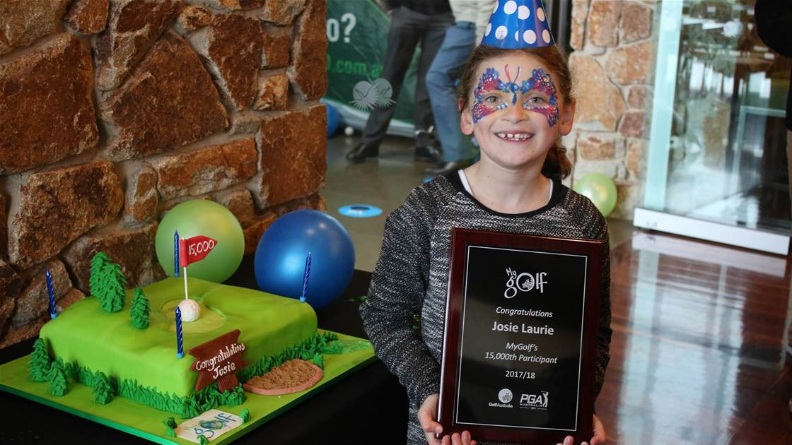 15,000 reasons to celebrate MyGolf