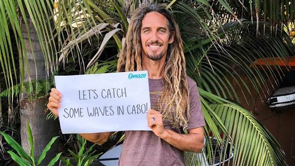 A chance to hang with Rob Machado in Mexico
