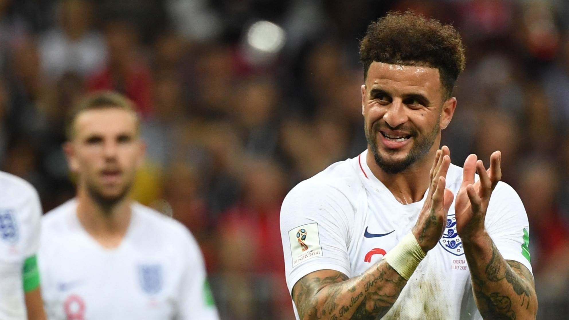 This World Cup has united England, says Walker