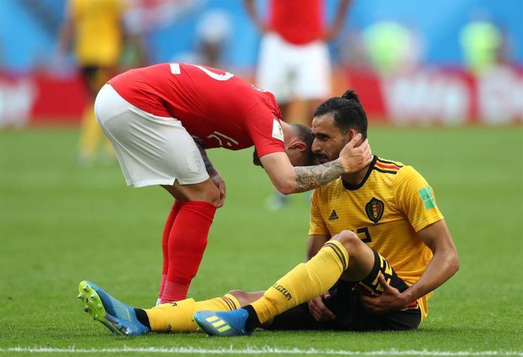 Injured midfielder Chadli proud of team and believes in future success