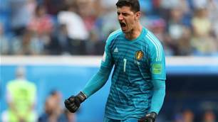 Courtois says Belgium are happy to finish third at World Cup