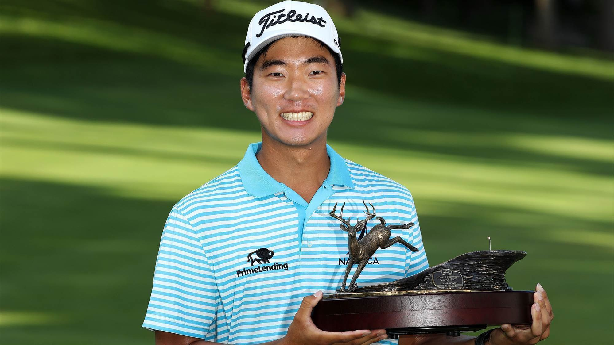 Kim's maiden PGA Tour victory seals Open spot