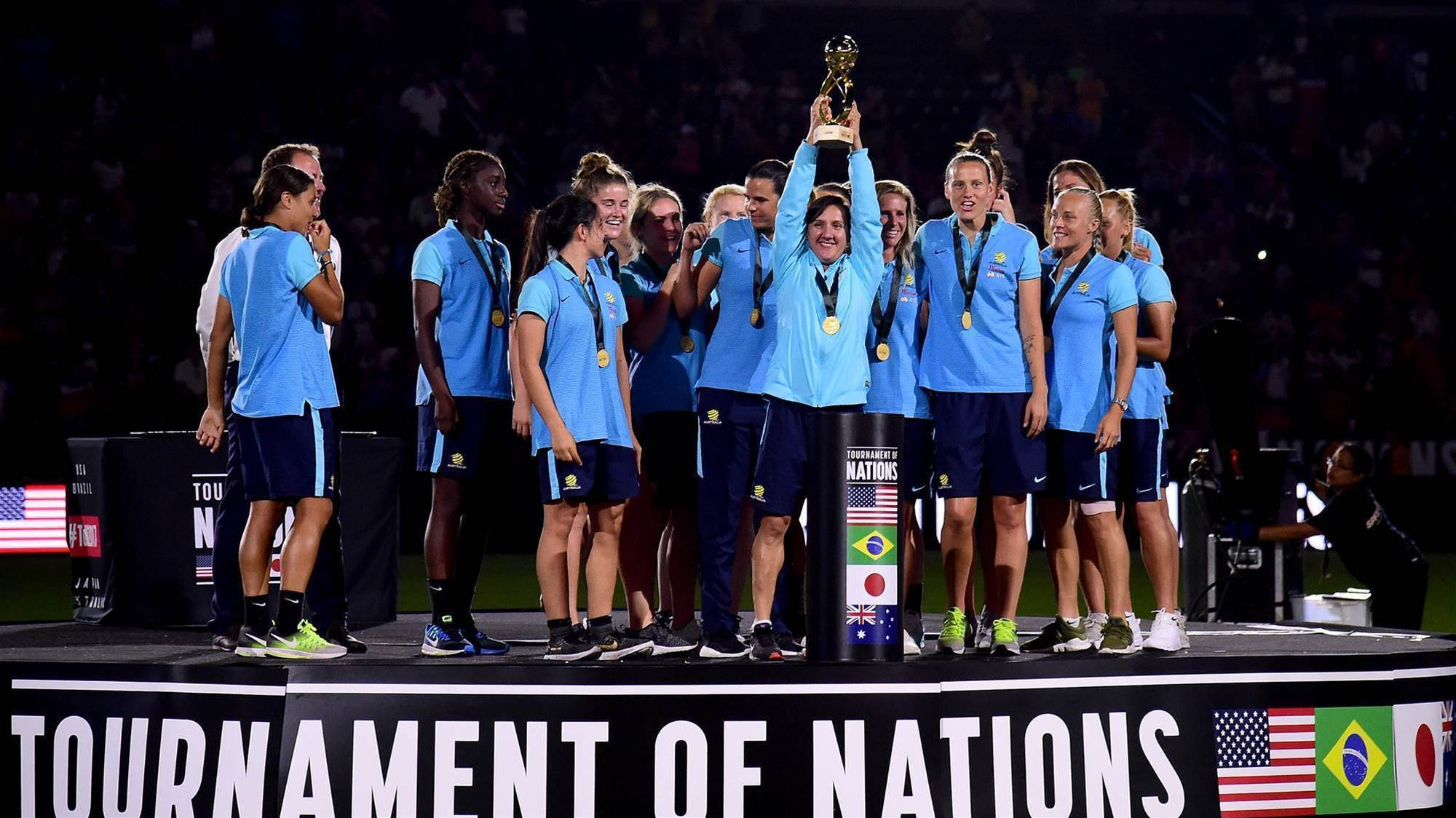 New debutant in Matildas Tournament of Nations squad