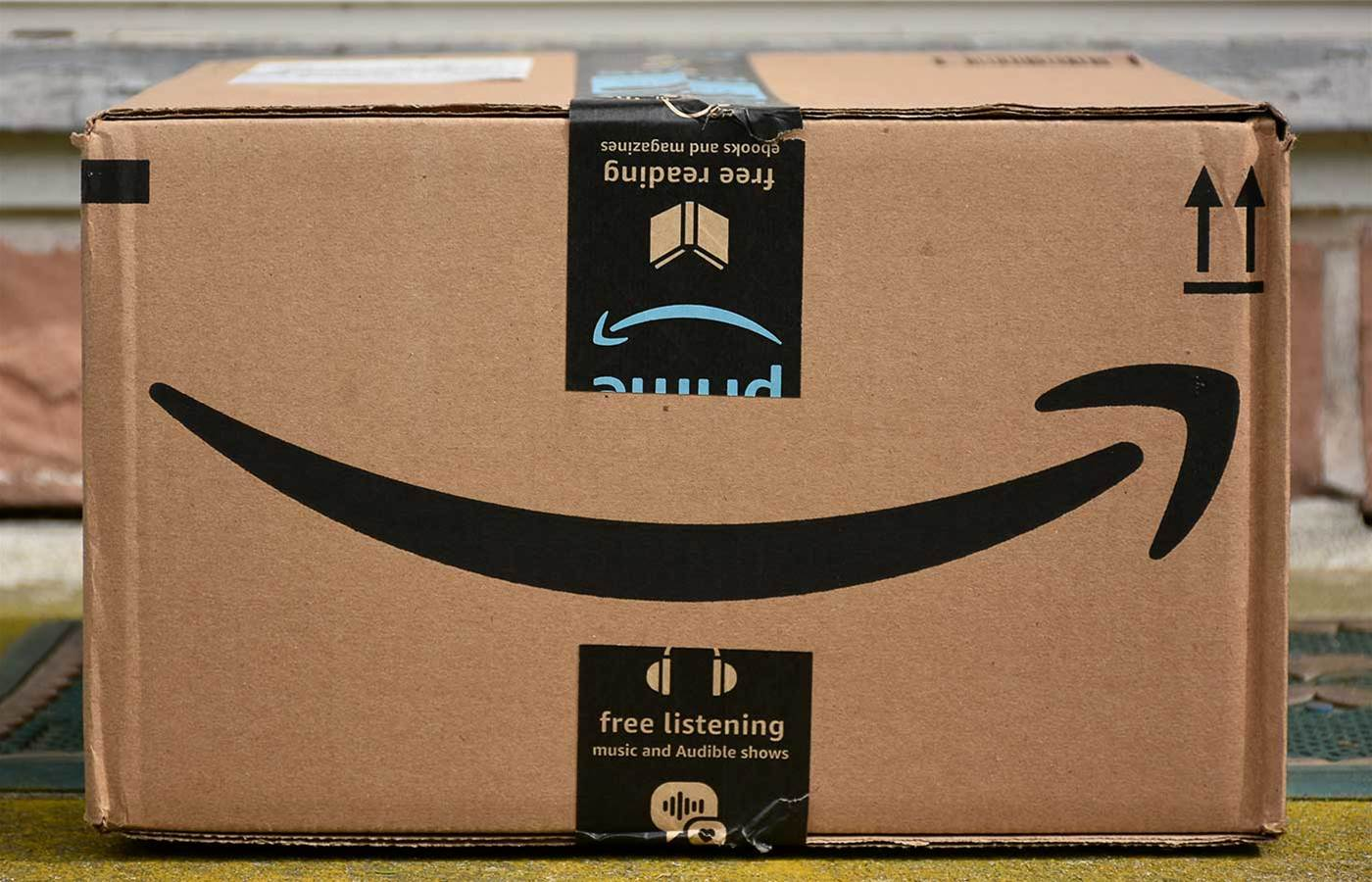Amazon.com crashes at the start of major sales event
