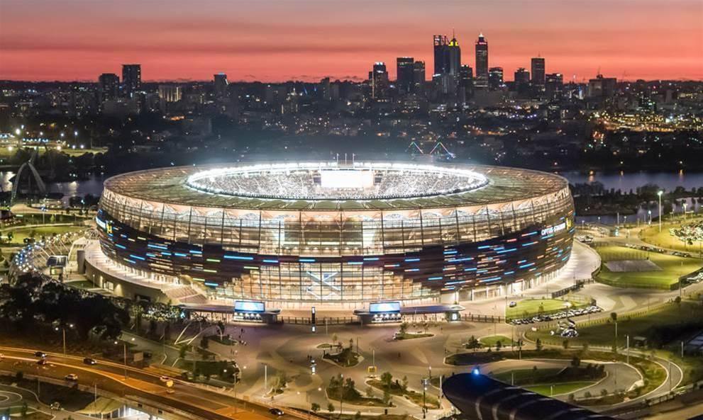 Optus deploys beacon network at Perth stadium