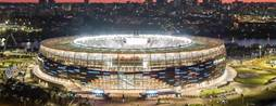 Optus deploys beacon network at Perth stadium