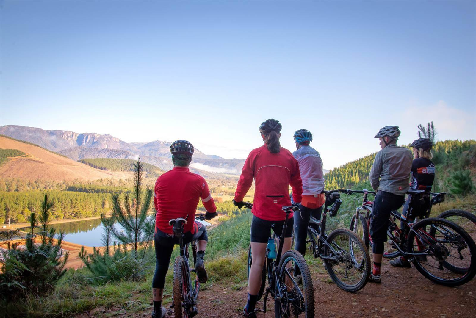 Get your gravel on in Bright at 5Zero