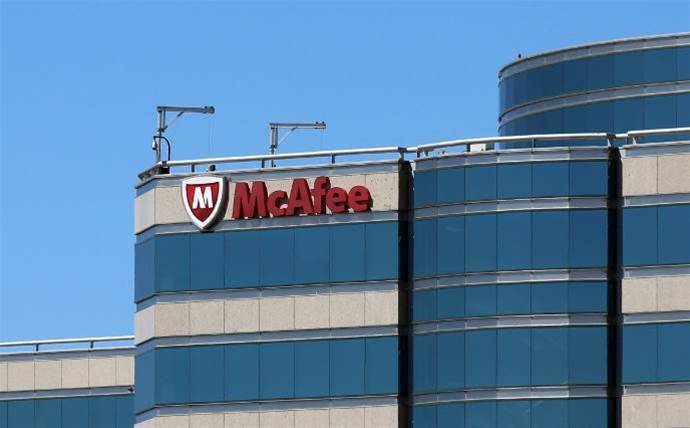 McAfee re-enters mobile security market