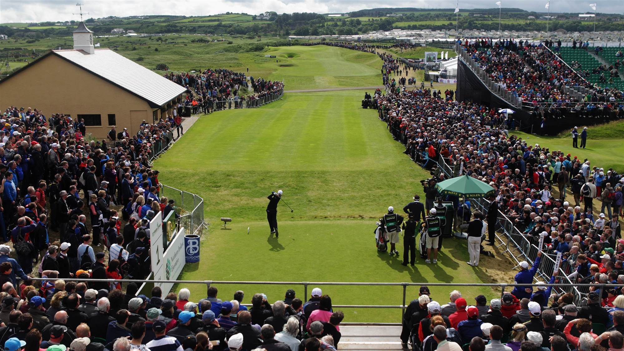 Your chance to play at The 148th Open in Northern Ireland