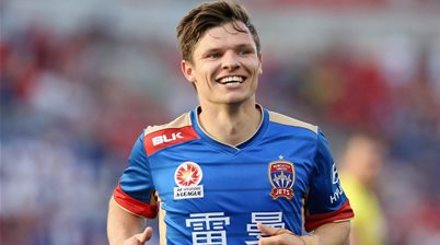 Newcastle Jets release English midfielder Brown